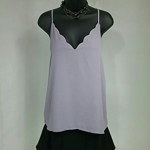 NEW Socialite Scalloped Cami NWT